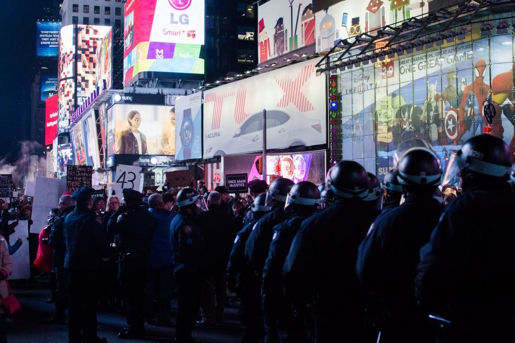 cops Times Square