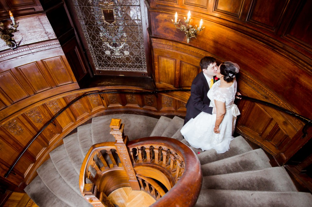 spiral stairs kiss